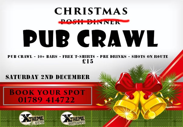 Join Us For Our Christmas Pub Crawl